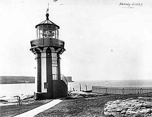 Hornby Lighthouse - Hornby Lighthouse, 1917