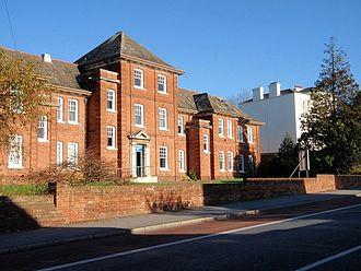 Royal Devon and Exeter Hospital - Previous Royal Devon and Exeter Hospital, Heavitree