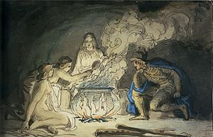 Höðr - In Saxo's version of the story Høtherus meets wood maidens who warn him that Balderus is a demi-god who can't be killed by normal means.