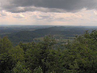 House Mountain (Knox County, Tennessee) - Image: House mountain southwest tn 1