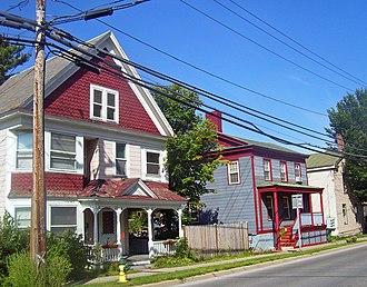 New York State Route 29 - Washington Street, Saratoga Springs