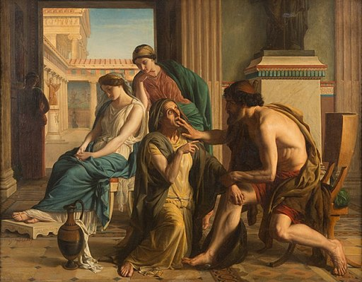 Housez Ulysse Euryclée