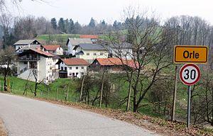 Orle, Škofljica - Image: Hrastarija Orle Skofljica Slovenia