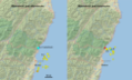 Hualien 2018 foreshocks and aftershocks.png