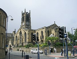 Huddersfield Parish Church - Kirkgate - geograph.org.uk - 889861.jpg