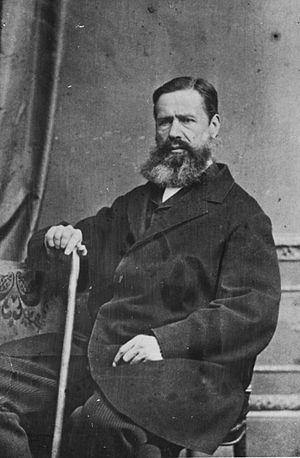 Hugh Carleton - Hugh Francis Carleton in ca 1870s