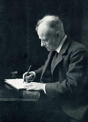 Hugh Thomson - Thomson at his desk
