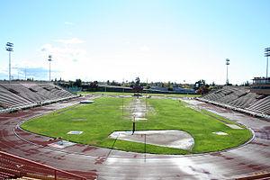 Charles C. Hughes Stadium - Image: Hughes Stadium