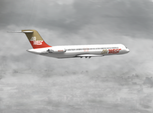 Hughes Airwest - Image: Hughesairwest 705