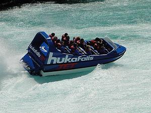 Huka Falls - Image: Huka Falls Jet
