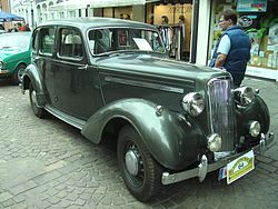 Humber Hawk Mark I (1946)