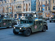 Humvee and Leleka UAV, Kyiv 2018, 39.jpg
