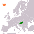 Hungary Iceland Locator.png