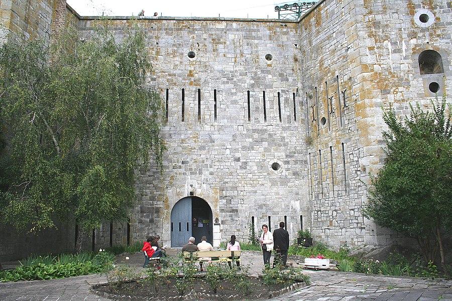 Huy  (Belgium), the citadel.