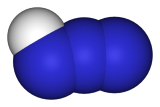 Hydrazoic acid chemical compound