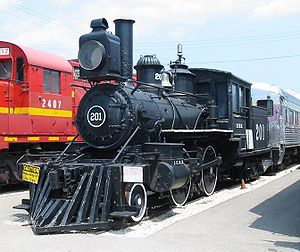 Rogers Locomotive and Machine Works - Image: IC 201 20050716 IL Union
