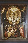 interieur, bord (beschilderd) - haarlem - 20262656 - rce