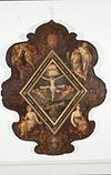 interieur, bord (beschilderd) - haarlem - 20262663 - rce