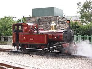 Isle of Man Railway locomotives - Image: IOMR loch 2004