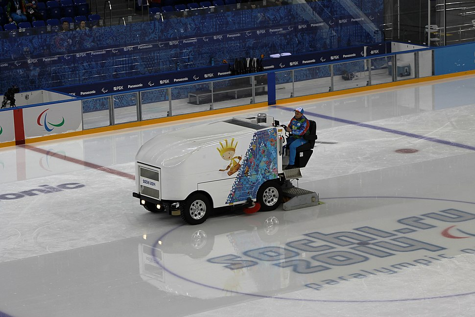 Ice resurfacer at the 2014 Winter Paralympics