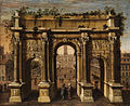 Idealansicht Septimius-Severus-Bogen und Kapitol 17Jh.jpg