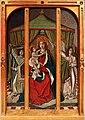 Ignoto portoghese, madonna col bambino e due angeli, 1450-1500 ca.jpg