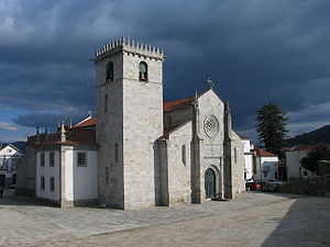 Caminha - Parish church of Caminha (early 16th century).