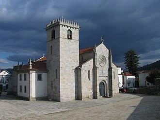 Caminha - Parish church of Caminha (early 16th century).