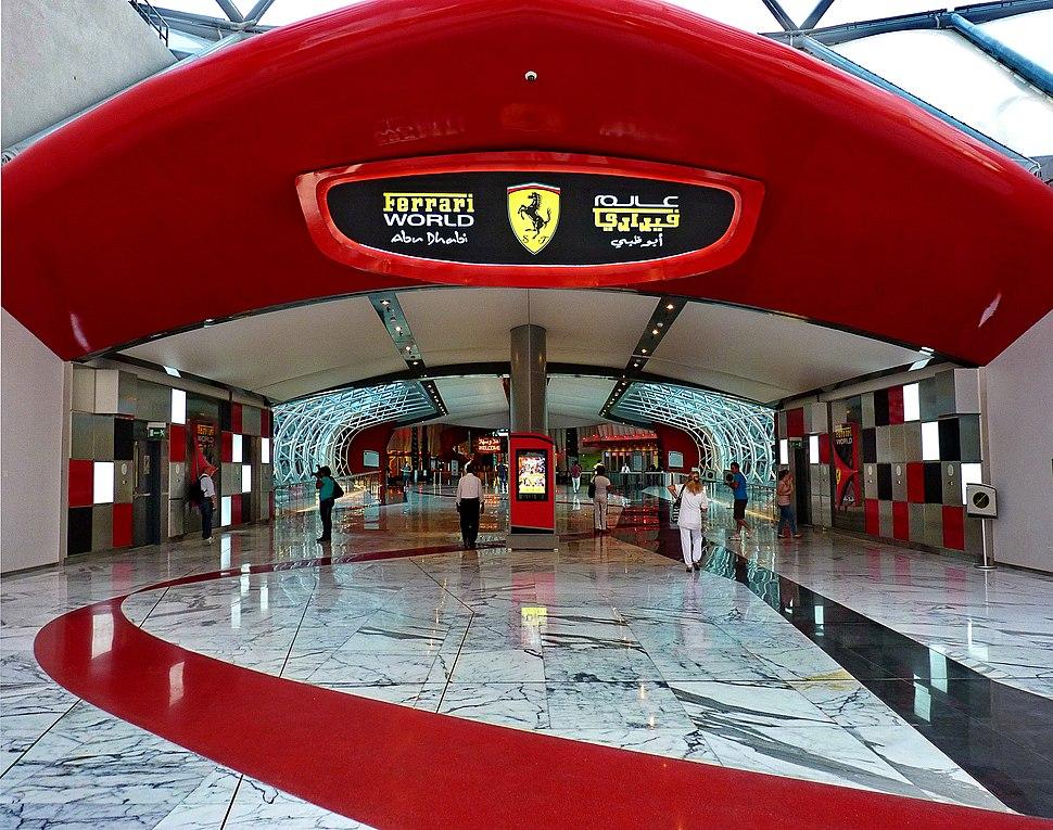 Il museo Ferrari - Abu Dhabi - panoramio
