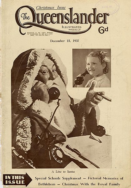 File:Illustrated front cover from The Queenslander December 15 1937 (7960424470).jpg