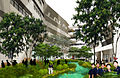 Illustration of the eco-garden of the new campus of the School of Science and Technology, Singapore.jpg