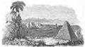 Illustrirte Zeitung (1843) 07 008 1 Ansicht der Ruinen von Urmal in Yucatan.PNG