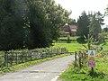 Imber - approaching the church - geograph.org.uk - 537284.jpg