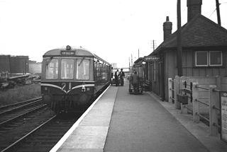 Immingham Dock railway station