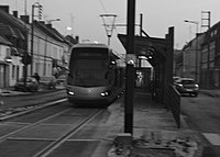 Inauguration de la branche vers Vieux-Condé de la ligne B du tramway de Valenciennes le 13 décembre 2013 (009).JPG
