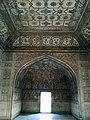 Inde Uttar Pradesh Agra Fort Rouge Khas Mahal Interieur - panoramio.jpg