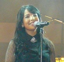 Indila en concert à Bruxelles en 2014.JPG