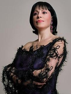 Inese Galante Latvian soprano opera singer (born 1954)