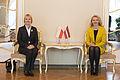 Inese Lībiņa-Egnere tiekas ar Polijas vēstnieci (17628753642).jpg