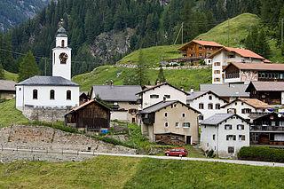 Innerferrera Former municipality of Switzerland in Graubünden