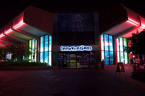 Innoventions (Epcot) - Image: Innoventions at Night