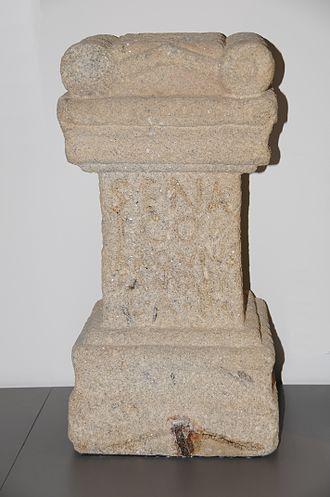 "Enchanted Moura - The votive ara is called  ""alminha dos mouros"" (wayside shrine of the mouros)"