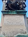 Inscriptions on South African War Memorial, Cardiff, December 2020 01.jpg