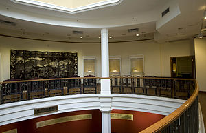 University Museum and Art Gallery, Hong Kong - Inside Fung Ping Shan Buildling - The Balcony