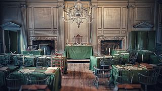 Inside Independence Hall
