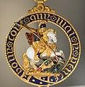 Insigne de l'ordre de la Jarretière 1835 Burghley House collection.jpg