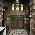 Interieur, biechtstoel met gesloten deuren, in de de zuidgevel - Wehe-den Hoorn - 20386678 - RCE.jpg