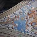 Interieur, detail van gewelfschildering in het koor - Ootmarsum - 20383884 - RCE.jpg