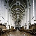 Interieur, overzicht van de abdijkerk richting het koor - Berkel-Enschot - 20385386 - RCE.jpg