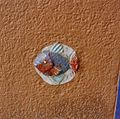 Interieur portiek, detail tegel met afbeelding van vis - Groningen - 20357211 - RCE.jpg